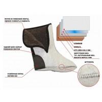 Чулок NORD шерстяной мех на фольгированной основе
