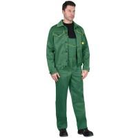 """Костюм """"ДОКЕР"""" куртка, п/к зеленый с желтым"""