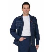 """Куртка """"ТЕХАС"""" цв.синий"""