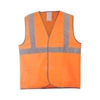 Жилет сигнальный 6АТ оранжевый (трикотаж 100% п/э) 3 СОП с карманами