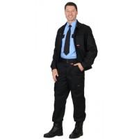 "Костюм ""ТАЙФУН"": куртка, брюки Тк. Rodos (245 гр/кв.м) черный"