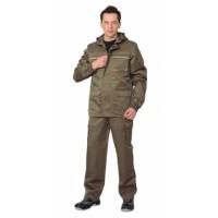 """Костюм """"Геолог"""" летний: куртка, брюки (тк.CROWN-230 ) хаки"""
