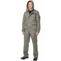 "Костюм ""Байкал"" : куртка кор., брюки оливковый тк. Rodos (245 гр/кв.м)"