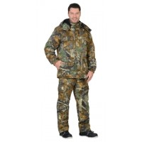 """Костюм """"ФОРЕСТ"""": зимний куртка дл., брюки (тк.CROWN-230) КМФ """"Тёмный Лес"""""""