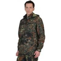"Куртка ""Вектор"" длин. (тк. Рип-стоп) КМФ ""Флектарн"""