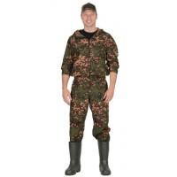 "Костюм ""СТАЛКЕР"":куртка кор.,брюки (тк.сорочечная) КМФ ""Цифра"" зелёная"