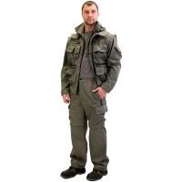 """Костюм """"Тигр"""" куртка, брюки (тк. Rodos 245) Оливковый"""