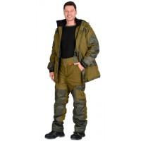 "Костюм ""ГОРКА"" зимний: куртка дл., брюки (тк.палатка) хаки"