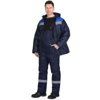 """Костюм """"Рост-Норд"""" куртка, п/к, т-синий с васильковым. Тк.Оксфорд"""