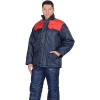 """Куртка """"Рост"""" синяя с красным облегченная"""