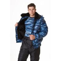 Куртка МЕТЕЛЬ-2 (отстегивающийся мех), ткань оксфорд