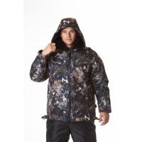Куртка ПИЛОТ-4, тк. алова, съемный меховой утеплитель