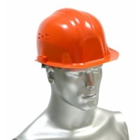 "Каска защитная ""ИСТОК"" (оранжевая) храповик"