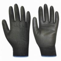 """Перчатки """"Нейп Пол-Ч"""" (нейлон с полиуретаном, цвет черный)"""