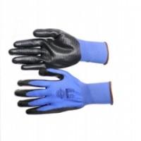 """Перчатки """"РифНит"""" (нейлон с черным нитрилом, рифленным покрытием,13-й класс вязки)"""