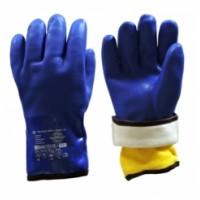 """Перчатки утепленные """"ВИНТЕРЛЕ+"""", полное ПВХ-покрытие, вынимающийся акриловый вкладыш"""