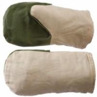 Рукавицы утеплённые (утеплитель ватин) с брезентовым наладонником