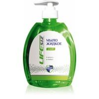 """Мыло жидкое """"Уход-Актив"""", для мытья сильнозагрязнеых рук, флакон с дозатором 520мл."""